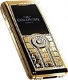 GoldVish Mayesty Yellow Gold Mobiltelefon