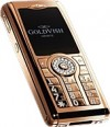 GoldVish Violent Numbers Pink Gold Mobiltelefon