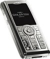 GoldVish Violent Numbers White Gold Mobiltelefon