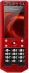 Gresso Grand Monaco Red Ceramic Red Cayman Mobiltelefon