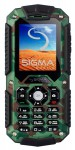 Sigma mobile X-treme IT67 Mobiltelefon