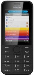 Download free images and screensavers for Nokia 208.