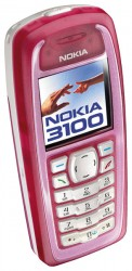 Download free images and screensavers for Nokia 3100.