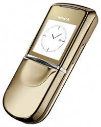 Nokia 8800 Sirocco Gold themes - free download