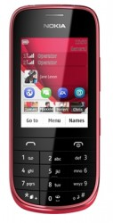 Download free images and screensavers for Nokia Asha 202.