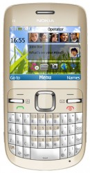 Download free images and screensavers for Nokia C3.