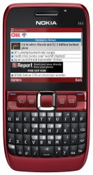 Nokia E63 themes - free download