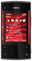 Download free images and screensavers for Nokia X3.