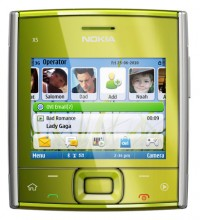 Nokia X5-01 themes - free download