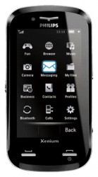 Download free ringtones for Philips Xenium X800