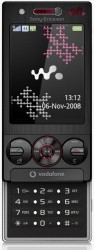 Sony-Ericsson W715 themes - free download