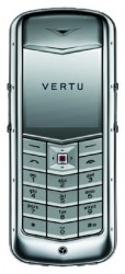 Vertu Constellation Polished Stainless Steel Pink Leather gallery