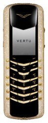 Галерея Vertu Signature M Design Yellow Gold Pave