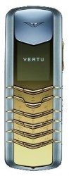 Галерея Vertu Signature Stainless Steel with Yellow Metal Details