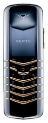 Галерея Vertu Signature Stainless Steel with Yellow Metal Keys