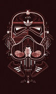 Download free mobile wallpaper 18330: Adidas, Background, Logos, Star wars for phone or tab. Download images, backgrounds and wallpapers for mobile phone for free.