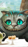 Download free mobile wallpaper 7456: Cartoon, Cinema, Cats, Alice in Wonderland for phone or tab. Download images, backgrounds and wallpapers for mobile phone for free.