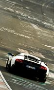 Download free mobile wallpaper 26755: Lamborghini, Auto, Roads, Transport for phone or tab. Download images, backgrounds and wallpapers for mobile phone for free.