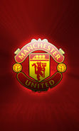 Download free mobile wallpaper 9992: Sport, Logos, Football, Manchester United for phone or tab. Download images, backgrounds and wallpapers for mobile phone for free.