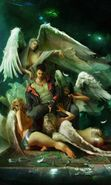 Download free mobile wallpaper 16566: Angels, Girls, People, Men, Pictures for phone or tab. Download images, backgrounds and wallpapers for mobile phone for free.
