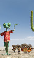 Download free mobile wallpaper 14436: Rango, Cartoon for phone or tab. Download images, backgrounds and wallpapers for mobile phone for free.