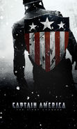 Download free mobile wallpaper 13411: Captain America, Cinema for phone or tab. Download images, backgrounds and wallpapers for mobile phone for free.