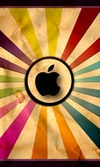 Download free mobile wallpaper 45314: Apple,Brands,Background for phone or tab. Download images, backgrounds and wallpapers for mobile phone for free.