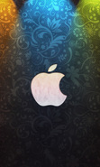 Download free mobile wallpaper 47896: Apple,Brands,Background for phone or tab. Download images, backgrounds and wallpapers for mobile phone for free.