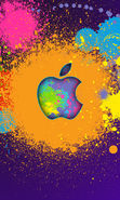 Download free mobile wallpaper 20789: Apple, Brands, Background, Logos for phone or tab. Download images, backgrounds and wallpapers for mobile phone for free.