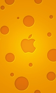Download free mobile wallpaper 38273: Apple,Brands,Background,Logos for phone or tab. Download images, backgrounds and wallpapers for mobile phone for free.