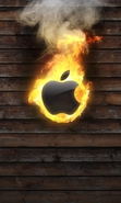 Download free mobile wallpaper 32674: Apple,Brands,Logos for phone or tab. Download images, backgrounds and wallpapers for mobile phone for free.