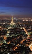 Download free mobile wallpaper 14875: Architecture, Eiffel Tower, Night, Paris, Nature for phone or tab. Download images, backgrounds and wallpapers for mobile phone for free.