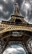 Download free mobile wallpaper 29263: Architecture,Eiffel Tower,Landscape for phone or tab. Download images, backgrounds and wallpapers for mobile phone for free.