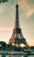 Download free mobile wallpaper 35020: Architecture,Eiffel Tower,Landscape for phone or tab. Download images, backgrounds and wallpapers for mobile phone for free.