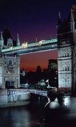 Download free mobile wallpaper 25560: Architecture, Cities, London, Bridges, Night, Landscape, Rivers for phone or tab. Download images, backgrounds and wallpapers for mobile phone for free.