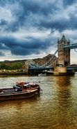 Download free mobile wallpaper 27622: Architecture, London, Bridges, Landscape, Rivers for phone or tab. Download images, backgrounds and wallpapers for mobile phone for free.