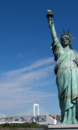 Download free mobile wallpaper 15251: Architecture, Statue of Liberty for phone or tab. Download images, backgrounds and wallpapers for mobile phone for free.