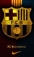 Download free mobile wallpaper 19383: Barcelona, Football, Logos, Sports for phone or tab. Download images, backgrounds and wallpapers for mobile phone for free.