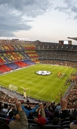 Download free mobile wallpaper 47728: Barcelona,Football,Landscape,Sports for phone or tab. Download images, backgrounds and wallpapers for mobile phone for free.