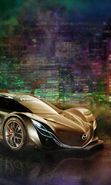 Download free mobile wallpaper 7232: Transport, Auto, Art, Mazda, Drawings for phone or tab. Download images, backgrounds and wallpapers for mobile phone for free.