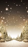 Download free mobile wallpaper 2217: Landscape, Winter, Trees, Art, Roads, Snow, Fir-trees for phone or tab. Download images, backgrounds and wallpapers for mobile phone for free.