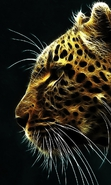Download free mobile wallpaper 32636: Art,Leopards,Animals for phone or tab. Download images, backgrounds and wallpapers for mobile phone for free.