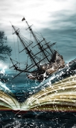 Download free mobile wallpaper 29188: Art photo,Fantasy,Ships,Sea for phone or tab. Download images, backgrounds and wallpapers for mobile phone for free.
