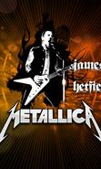 Download free mobile wallpaper 24029: Artists, Logos, People, Metallica, Music for phone or tab. Download images, backgrounds and wallpapers for mobile phone for free.