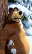 Download free mobile wallpaper 37772: Masha and the Bear,Cartoon for phone or tab. Download images, backgrounds and wallpapers for mobile phone for free.