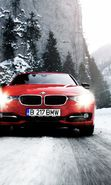 Download free mobile wallpaper 19741: Auto, BMW, Roads, Mountains, Snow, Transport, Winter for phone or tab. Download images, backgrounds and wallpapers for mobile phone for free.