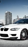Download free mobile wallpaper 27195: Auto, BMW, Transport for phone or tab. Download images, backgrounds and wallpapers for mobile phone for free.