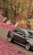 Download free mobile wallpaper 19846: Auto, Roads, Leaves, Autumn, Subaru, Transport for phone or tab. Download images, backgrounds and wallpapers for mobile phone for free.