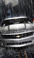 Download free mobile wallpaper 23336: Auto, Rain, Chevrolet, Transport for phone or tab. Download images, backgrounds and wallpapers for mobile phone for free.