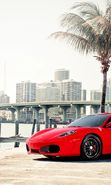 Download free mobile wallpaper 13001: Auto, Ferrari, Transport for phone or tab. Download images, backgrounds and wallpapers for mobile phone for free.